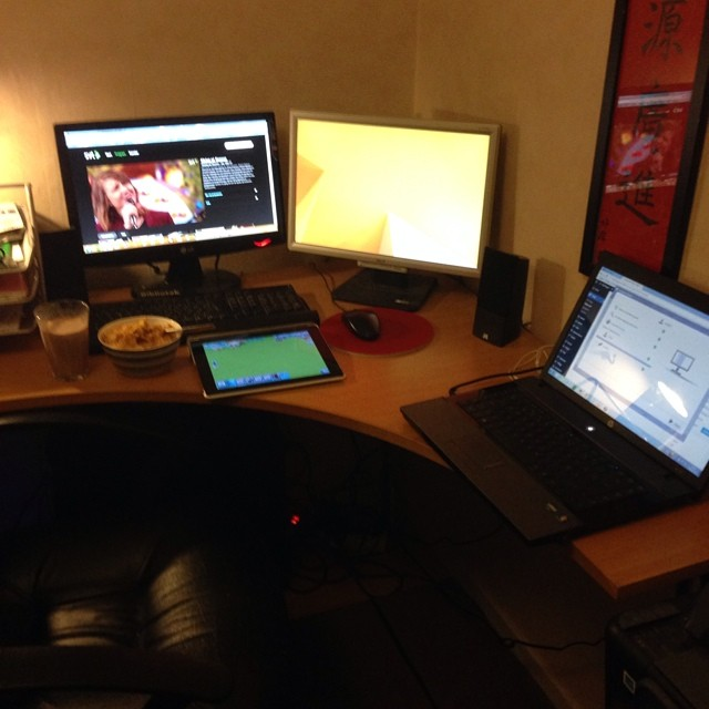 Workplace for a nerd