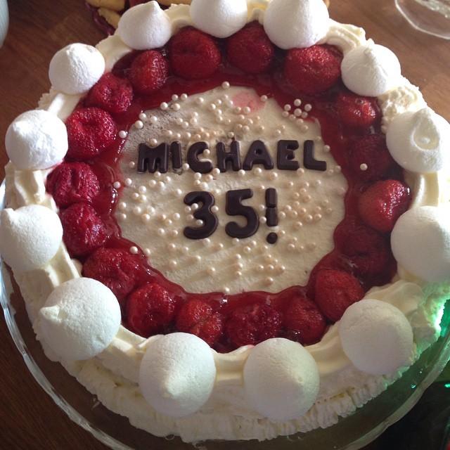 Jättefina tårtan!