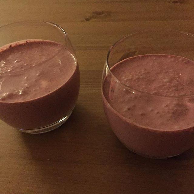 Nyttig smoothieefterrätt inspirerad av @vegetarianlowcarb